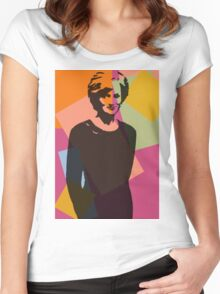 Princess Diana - Queen of Hearts Women's Fitted Scoop T-Shirt