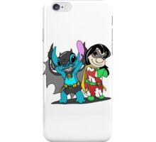 Bat-Stitch & Lilo-Robin iPhone Case/Skin