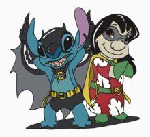Bat-Stitch & Lilo-Robin Kids Clothes