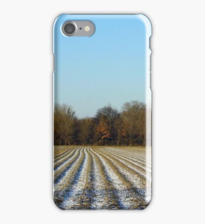 Cold Days Under A Sunny Sky iPhone Case/Skin