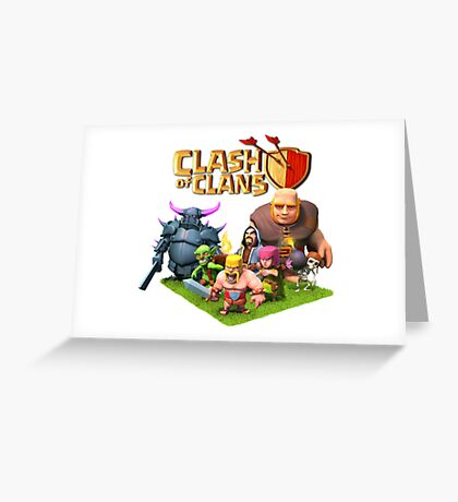 coc Greeting Card