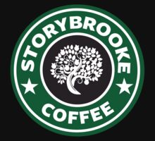 storybrooke coffee Kids Clothes