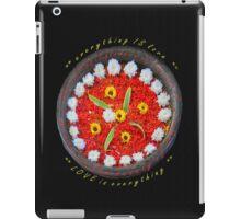 Frangipani flower blossoms iPad Case/Skin