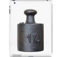 weight - one kilogram iPad Case/Skin