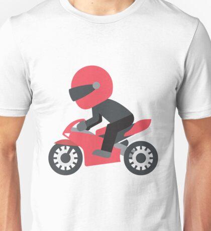 Motorcycle Emoji Unisex T-Shirt