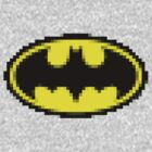 Batman 8 bits by shirtaddict
