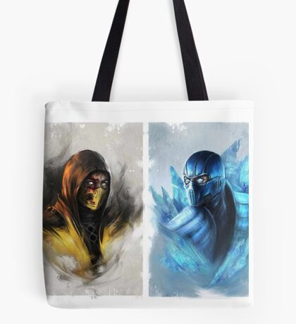 Mortal Kombat  Tote Bag
