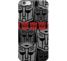 The Iconic Autobots (black) iPhone Case/Skin