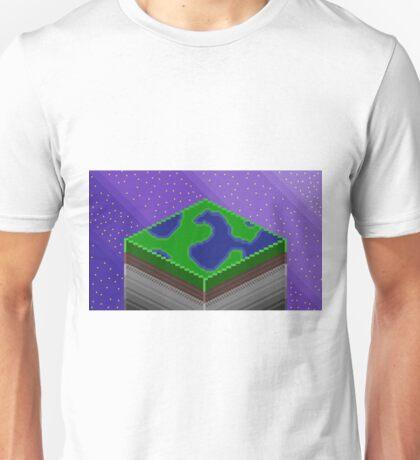 CUBIC EARTH Unisex T-Shirt