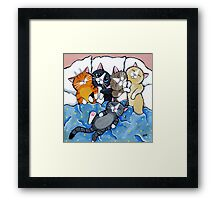 The Sleepover Club Framed Print