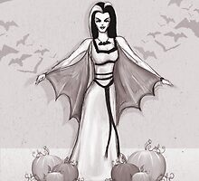 Lily Munster by Sam Pea