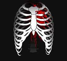 Love hurts... (Ribcage with heart) T-Shirt