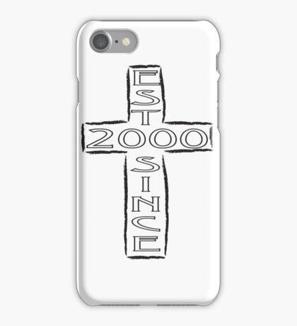 Crucifix - 2000 iPhone Case/Skin