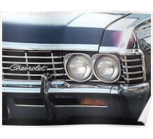 '67 Chevy Impala Poster