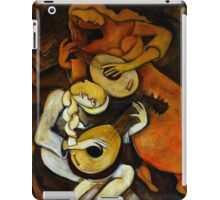 The Lute Players iPad Case/Skin