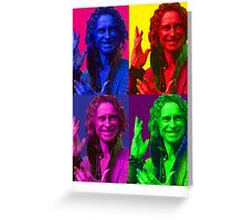 Rumpelstiltskin Pop-Art Greeting Card