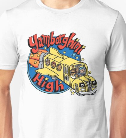 Yamborghini High x Magic School Bus Unisex T-Shirt