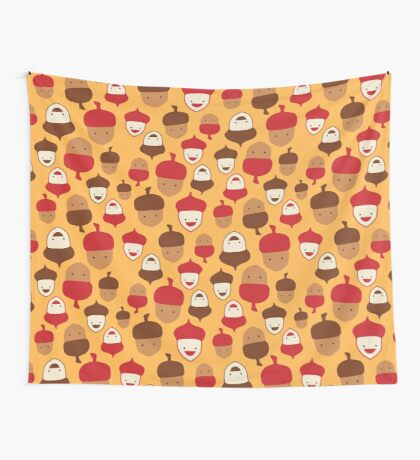 The Mighty Acorns II Wall Tapestry