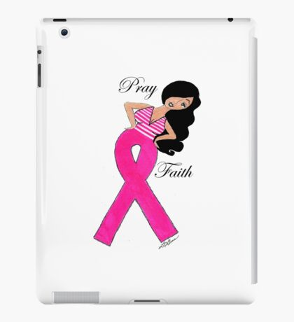 Breast Cancer T-Shirts iPad Case/Skin
