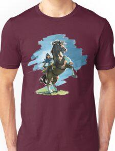 Zelda Breath Of The Wild (LINK/HORSE) Nintendo Switch Unisex T-Shirt
