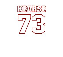 NFL Player Frank Kearse seventythree 73 Photographic Print