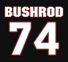 NFL Player Jermon Bushrod seventyfour 74 by imsport