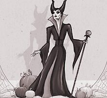 Maleficent by Sam Pea