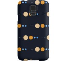 Planets to scale pattern Samsung Galaxy Case/Skin