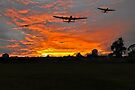 Bomber county: Lincolnshire sunset 1943 by Gary Eason