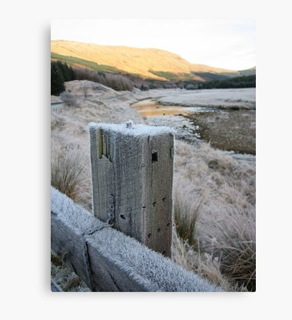 Scotland, frosty mornings Canvas Print