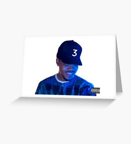 Chance the Rapper x Colouring Book Greeting Card