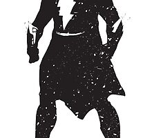 Superhero Silhouette Print by ProjectPixel