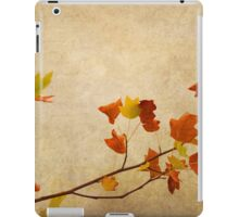 Nature minimalist iPad Case/Skin
