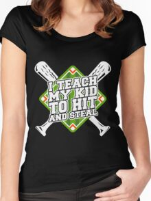 Hit And Steal copy Women's Fitted Scoop T-Shirt