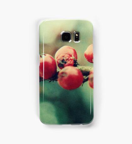 Red Winter Berries Samsung Galaxy Case/Skin