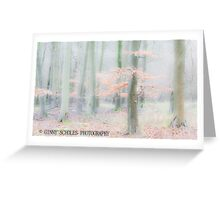 Autumn Beech Woods Greeting Card