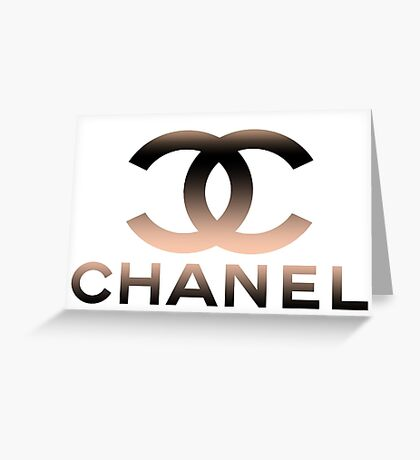 chanel behind Greeting Card