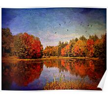 Autumnal Love Affair Poster