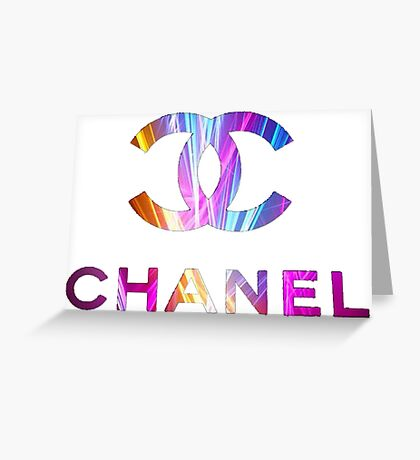 chanel H 1 Greeting Card