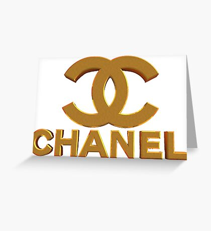 chanel H 3 Greeting Card