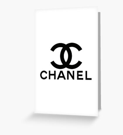 chanel H 5 Greeting Card