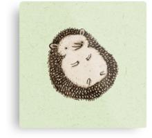 Plump Hedgehog Metal Print
