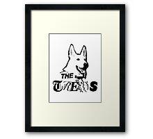 Russell Brand 'Trews' Logo Framed Print