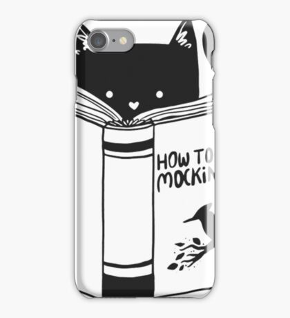 How To Kill A Mocking Bird Funny Duck Shirts iPhone Case/Skin
