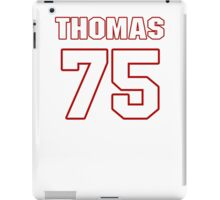 NFL Player Robert Thomas seventyfive 75 iPad Case/Skin