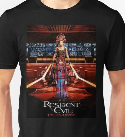 The Resident Evil - Final Chapter Unisex T-Shirt
