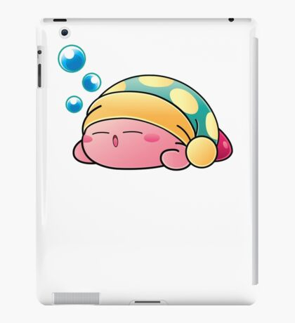 Sleeping Kirby iPad Case/Skin