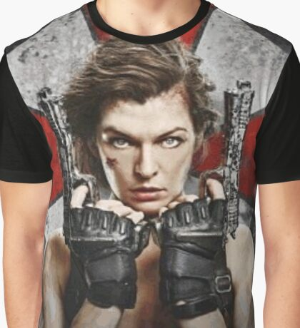 Milla Jovovich - The Final Chapter Graphic T-Shirt
