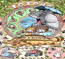Totoro comic by LTEP