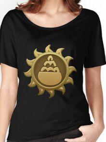Glitch Giants emblem pot Women's Relaxed Fit T-Shirt